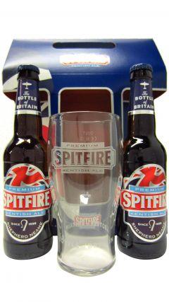Beer / Lager / Cider - Spitfire Ale & Glass Gift Set Whisky