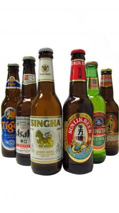Beer / Lager / Cider - Asian Beers Six Bottle Gift Set Whisky