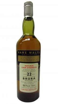 Brora (silent) - Rare Malts - 1972 22 year old Whisky