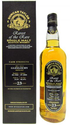 Glenlochy (silent) - Rarest Of The Rare - 1980 23 year old Whisky