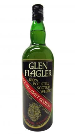 Glen Flagler (silent) - Rare All Malt Scotch 100% Pot Still Whisky