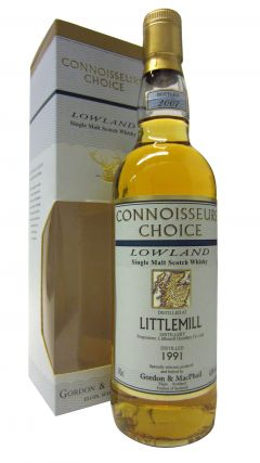 Littlemill (silent) - Connoisseurs Choice - 1991 16 year old Whisky