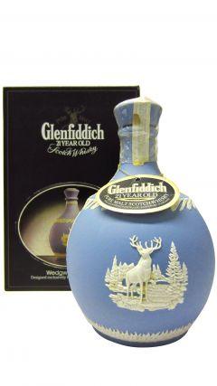 Glenfiddich - Wedgewood Jasper Decanter 21 year old Whisky