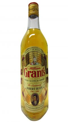William Grant's - Robert Burns 1796-1996 Whisky