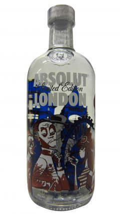 Vodka - Absolut London Limited Edition Whisky