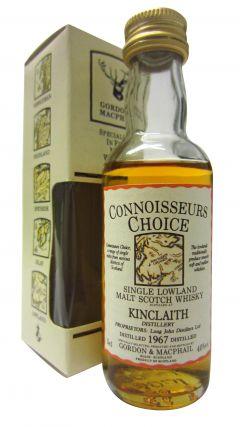 Kinclaith (silent) - Connoisseurs Choice Miniature - 1967 Whisky