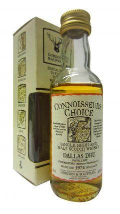 Dallas Dhu (silent) - Connoisseurs Choice Miniature - 1974 Whisky