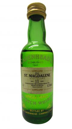 St. Magdalene (silent) - Cadenheads Miniature - 1982 12 year old Whisky