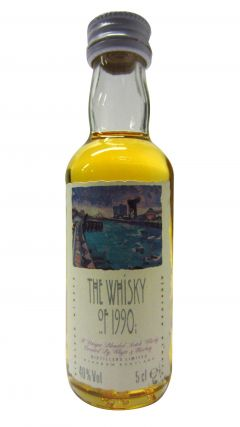 Whyte + Mackay - The Whisky of 1990 Miniature Whisky