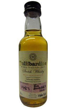 Tullibardine - Single Highland Malt Miniature - 1987 Whisky