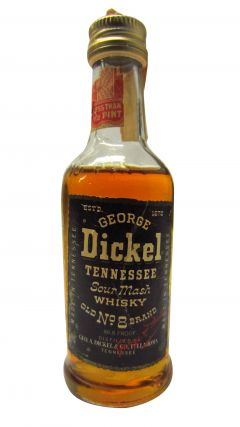 George Dickel - Sour Mash Miniature Whiskey
