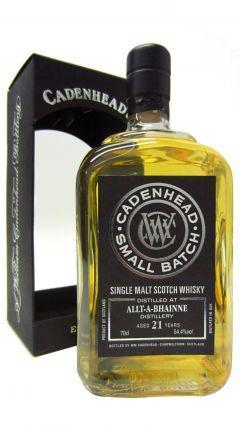 Allt-a-Bhainne - Cadenhead Small Batch - 1992 21 year old Whisky
