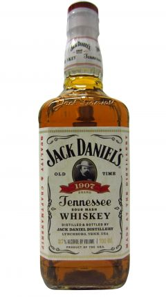 Jack Daniel's - 1907 White Label 1st Edition Whiskey