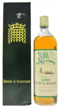 Blended Malt - House of Commons Signed by Jeffrey Archer & Edwina Currie Whisky