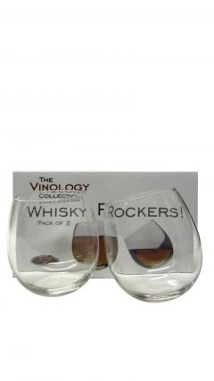 HTFW Whisky Rockers Glasses (Pack of 2)