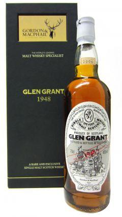 Glen Grant - Speyside Single Malt Scotch - 1948 58 year old Whisky