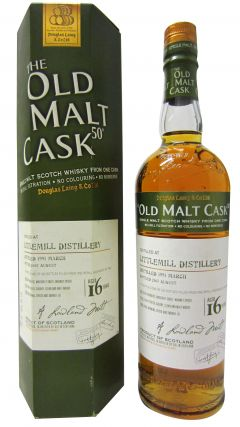 Littlemill (silent) - Old Malt Cask 50 - 1991 16 year old Whisky