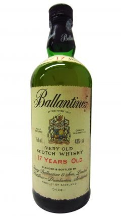 Ballantines - Very Old Scotch 17 year old Whisky