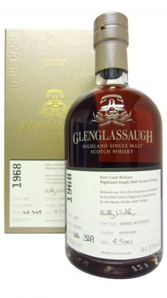 Glenglassaugh - Rare Cask Release #1601 - 1968 45 year old Whisky
