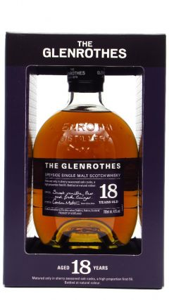 Glenrothes - Speyside Single Malt - Soleo Collection 18 year old Whisky