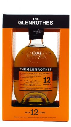 Glenrothes - Speyside Single Malt - Soleo Collection 12 year old Whisky