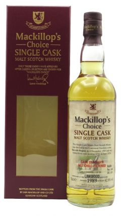 Linkwood - Mackillop's Choice Single Cask #6711 - 1989 31 year old Whisky
