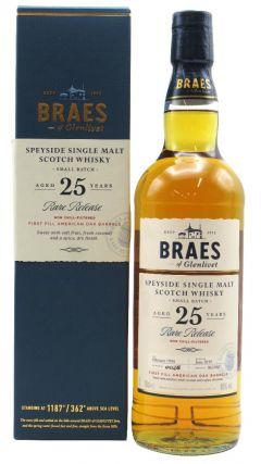Braeval - Secret Speyside - Braes of Glenlivet - 1994 25 year old Whisky
