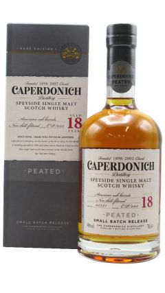 Caperdonich (silent) - Secret Speyside - Peated Single Malt 18 year old Whisky