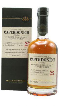 Caperdonich (silent) - Secret Speyside - Single Malt 25 year old Whisky