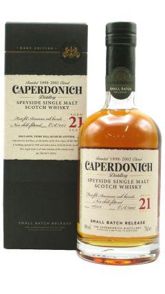 Caperdonich (silent) - Secret Speyside - Single Malt 21 year old Whisky