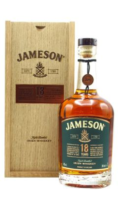 Jameson - Triple Distilled Irish 18 year old Whiskey