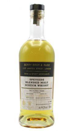 Berry Bros & Rudd - Classic Speyside Cask - Blended Scotch Malt Whisky