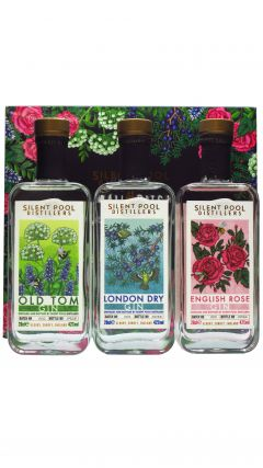 Silent Pool - The Odyssey Box - 3 X 20cl Gin