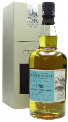 Bunnahabhain - Wemyss Malts - Honey I'm Home Single Cask - 1988 30 year old Whisky