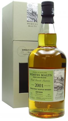 Benrinnes - Fresh Danish Pastries Single Cask - 2001 17 year old Whisky
