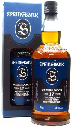 Springbank - Madeira Wood 17 year old Whisky
