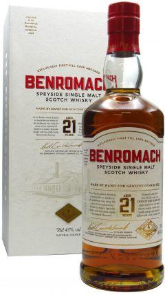 Benromach - Speyside Single Malt Scotch 21 year old Whisky