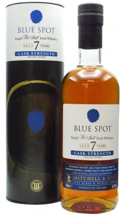 Blue Spot - Cask Strength Single Irish Pot Still 7 year old Whiskey