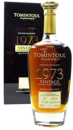 Tomintoul - Double Wood Matured - Speyside Single Malt  - 1973 45 year old Whisky