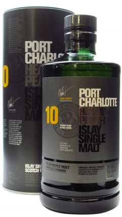 Port Charlotte - Heavily Peated 10 year old Whisky