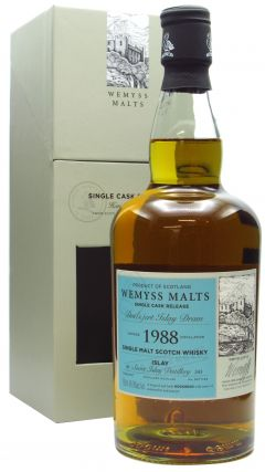 Bunnahabhain - Wemyss Malts - Dessert Islay Dram Single Cask - 1988 30 year old Whisky