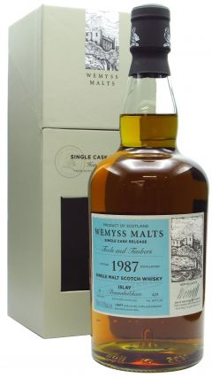 Bunnahabhain - Wemyss Malts - Tools and Timbers Single Cask - 1987 31 year old Whisky