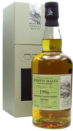 Glenrothes - Tasty Cake Mix Single Cask - 1996 22 year old Whisky