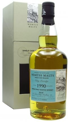 Bunnahabhain - Wemyss Malts - Islay Porridge Single Cask - 1990 28 year old Whisky