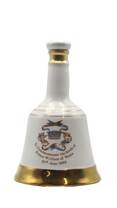 Bells - Decanter Birth of Prince William of Wales (Unboxed) 8 year old Whisky
