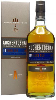 Auchentoshan - Single Malt Scotch 18 year old Whisky