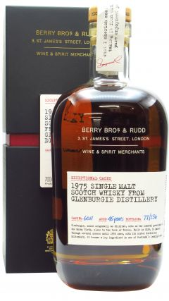 Glenburgie - Berry Bros. & Rudd Exceptional Casks #6011 - 1975 45 year old Whisky