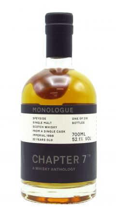 Imperial (silent) - Chapter 7 Monologue #9 Single Cask #104355 - 1998 22 year old Whisky