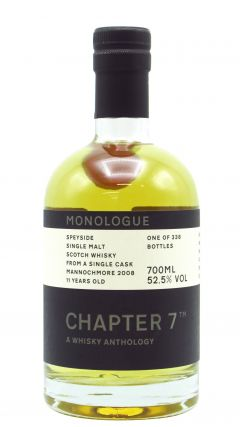 Mannochmore - Chapter 7 Monologue #7 Single Cask #16612 - 2008 11 year old Whisky