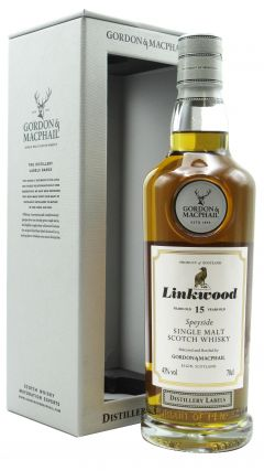Linkwood - Distillery Labels 15 year old Whisky